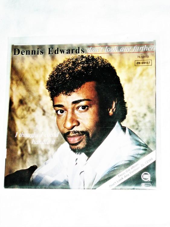 "Dennis Edwards ""Dont Look Any Further"" mycket bra skick."