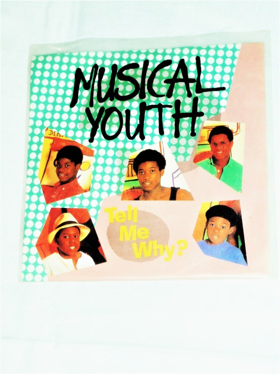 """Musical Youth """"Tell Me Why"""" mycket bra skick."""