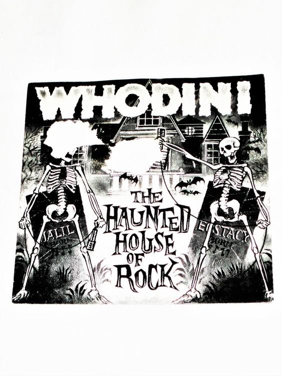 "Whodini ""The Haunted House Of Rock"" mycket bra skick."