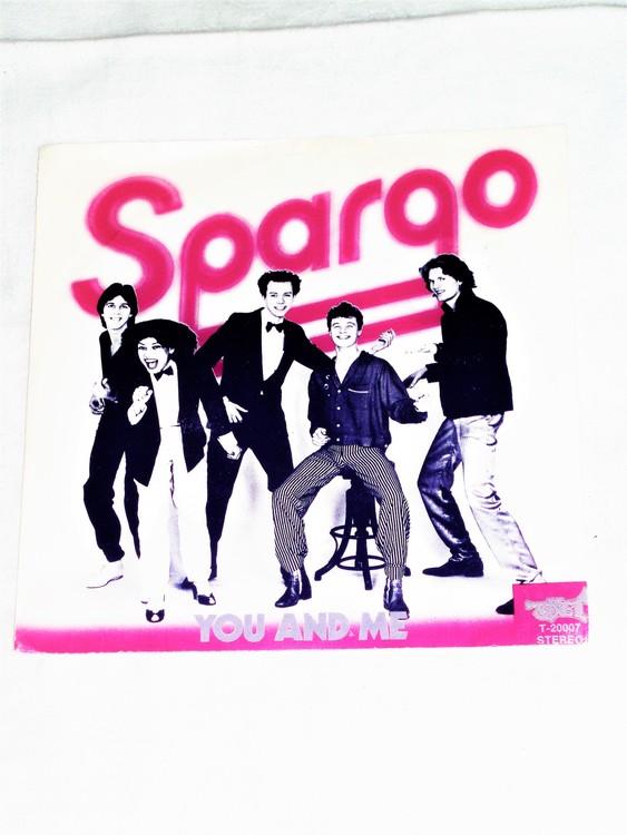 "Spargo ""You And Me"" mycket bra skick."