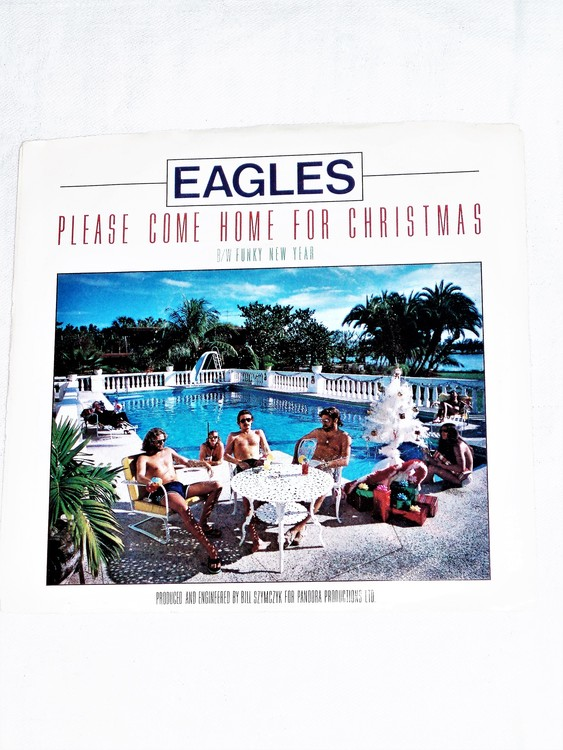 """The Eagles """"Please Come Home For Christmas"""" mycket bra skick."""