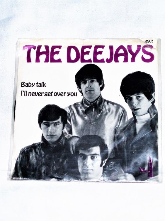 "The Deejays ""Babytalk"" Singel 45 rpm mycket bra skick."