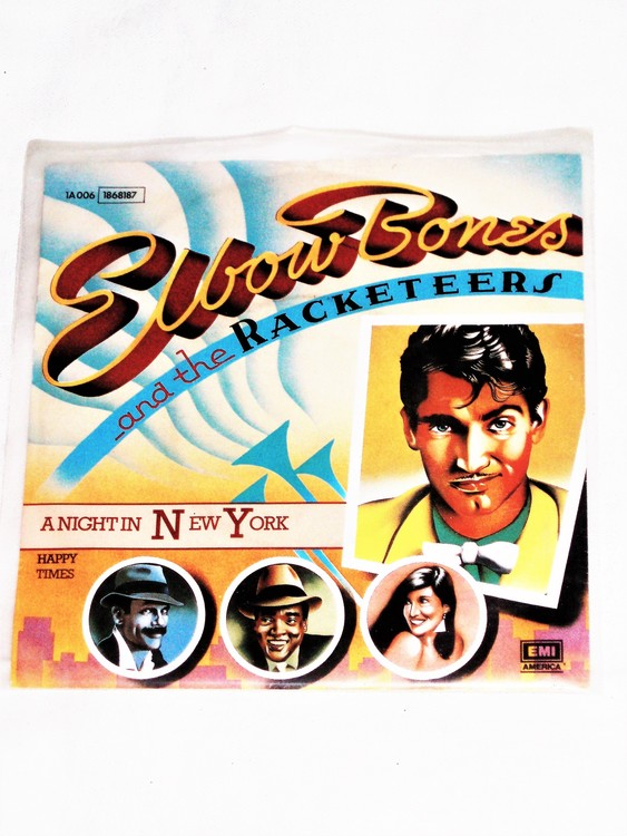 """Elbow Bones And The Racketeers""""A Night In New York"""" mycket bra skick."""