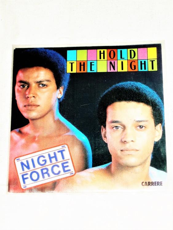 "Night Force ""Hold The Night"" mycket bra skick."