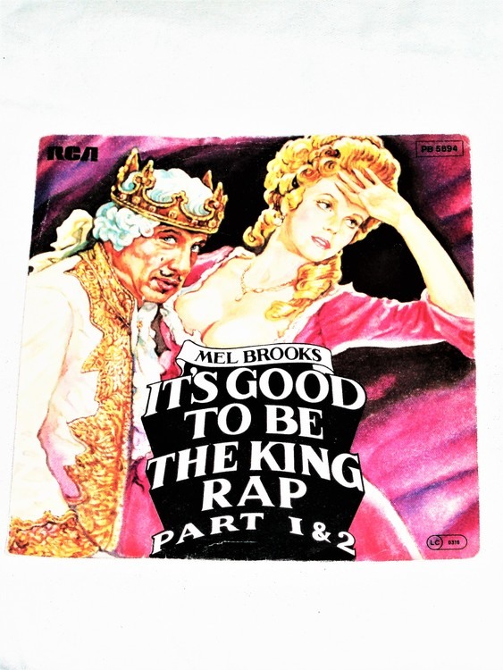 "Mel Brooks ""Its Good To Be A King Part 1&2"" mycket bra skick."