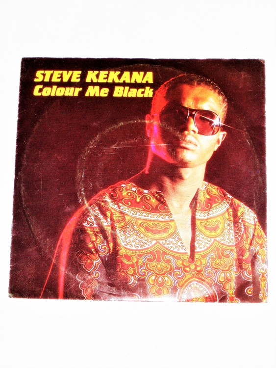 "Steve Kekana ""Colour Me Black"" mycket bra skick."