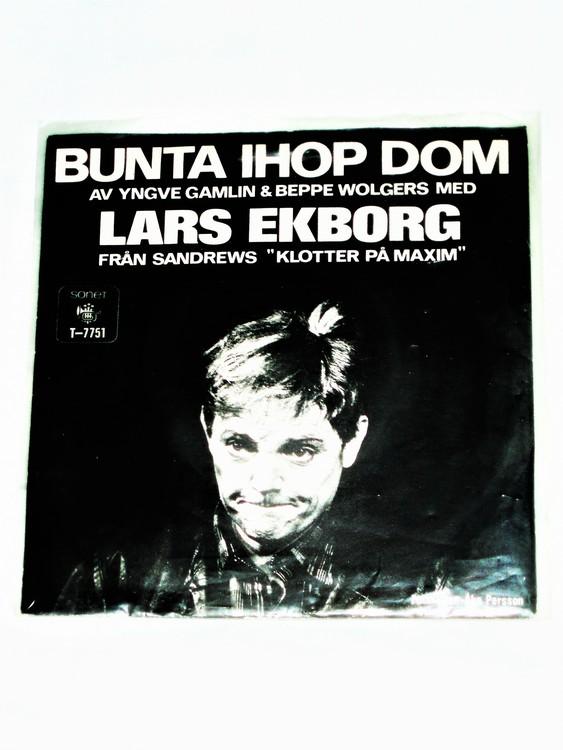 "Lars Ekborg ""Bunta Ihop Dom"" mycket bra skick."