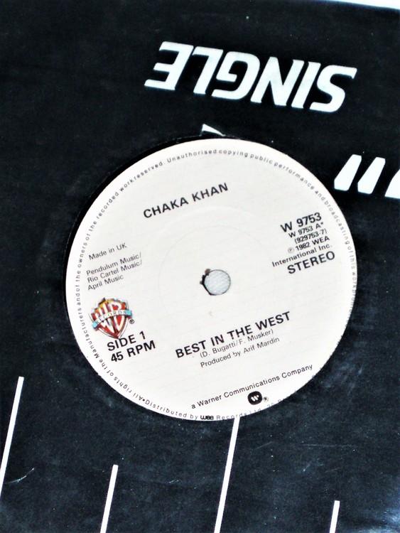 """Chaka Khan """"Best In The West"""" mycket bra skick."""