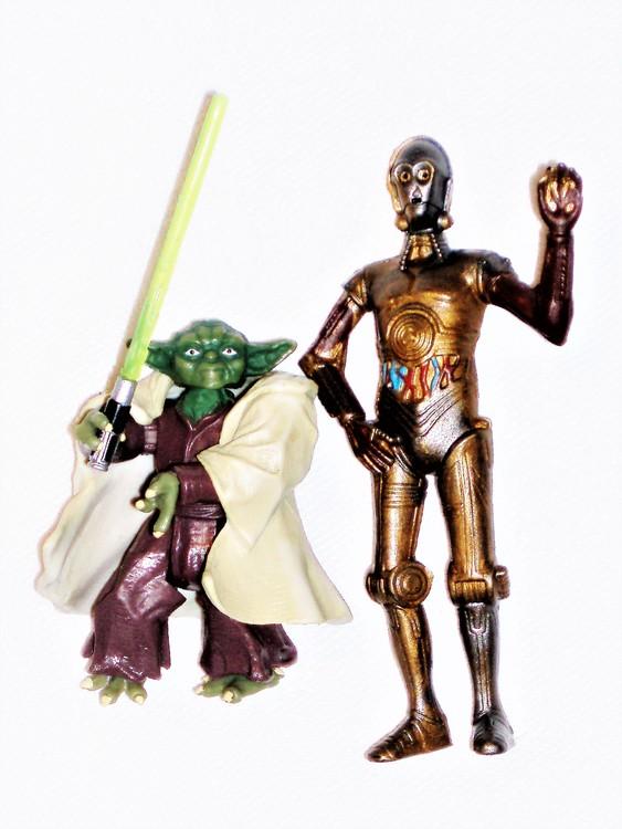 Star Wars höjd 5 / 8 cm normalt begagnat skick.