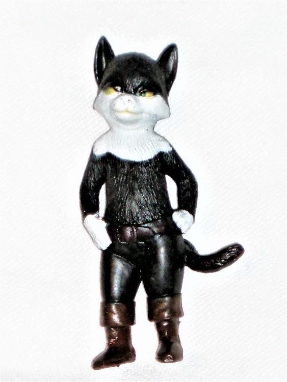 Kitty Softpaws Mästerkatten i Stövlar höjd 8 cm normalt begagnat skick.