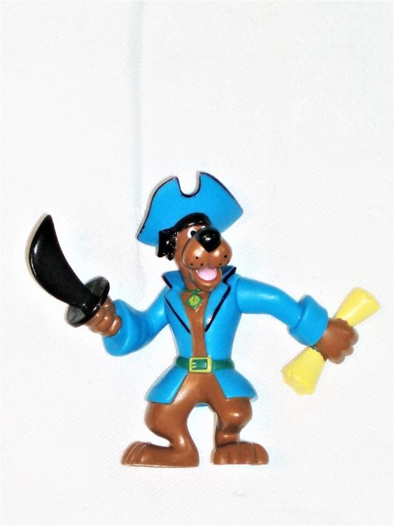 Scooby Doo höjd ca 7 cm normalt begagnat skick.