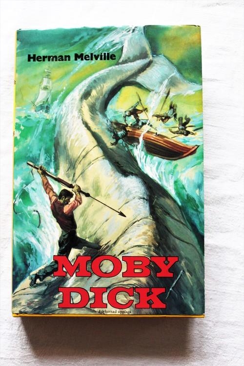 Moby Dick Bok Herman Melville Inbunden 318 sid nyskick.