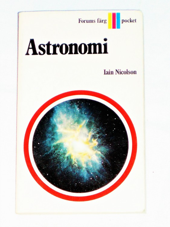 Astronomi Forums färgpocket 1971 160 sid bättre skick