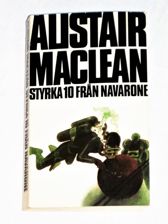 """Alistair Maclean""""Styrka 10 från Navarone""""1978 mycket bra skick nyskick oläst"""
