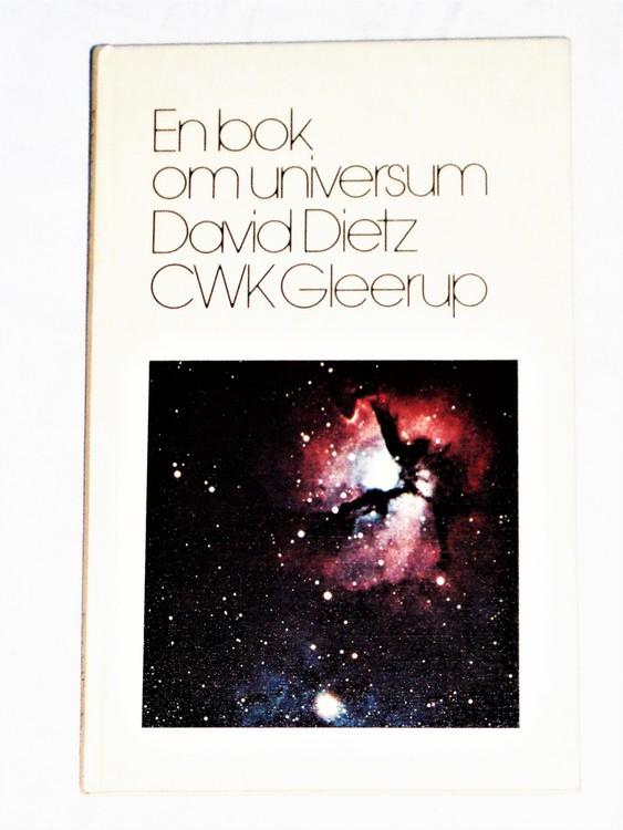 En Bok Om Universum D.Dietz Gleerup mycket bra skick.