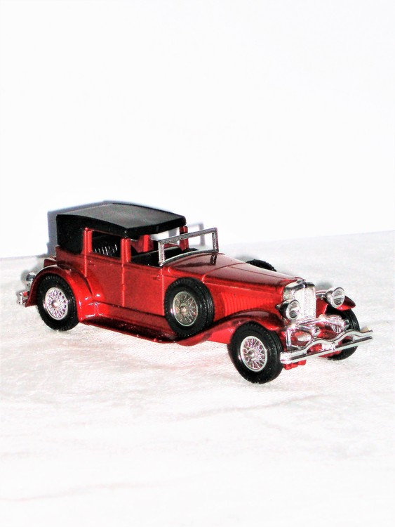 J Duesenberg Town Car1930 Models of YesterYear NoY-4 Lesney Products & Co UK.
