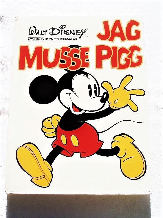 Jag Musse Pigg album 1976 Walt Disney hemmets journal bättre skick