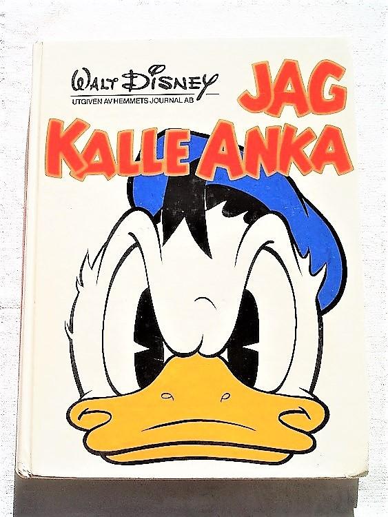 Jag Kalle Anka album 1973 Walt Disney hemmets journal,bättre skick