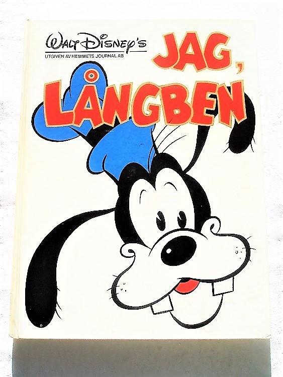 Jag Långben album 1977 Walt Disney hemmets journal,inbunden bra skick