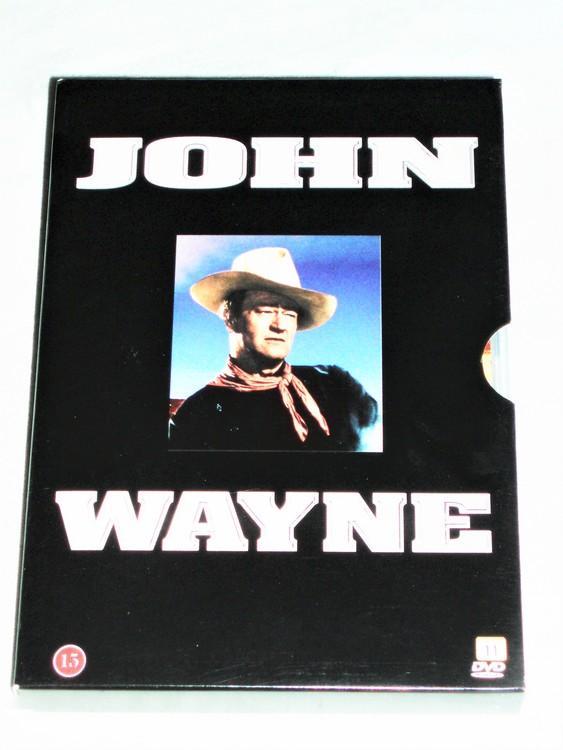 John Wayne Dvd Svensk Text,7 Filmer normalt begagnat skick.