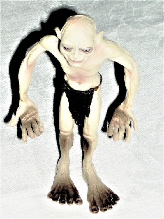 Gollum eller Sméagol höjd 10 cm normalt begagnat skick ny