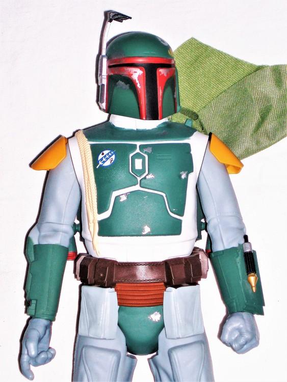 Boba Fett Star Wars V 48 cm mycket bra skick nyskick.