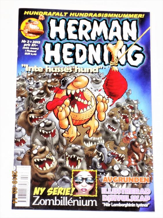Herman Hedning nr 2 2012 mycket bra skick