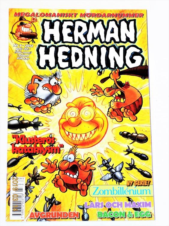 Herman Hedning nr 3 2012 mycket bra skick