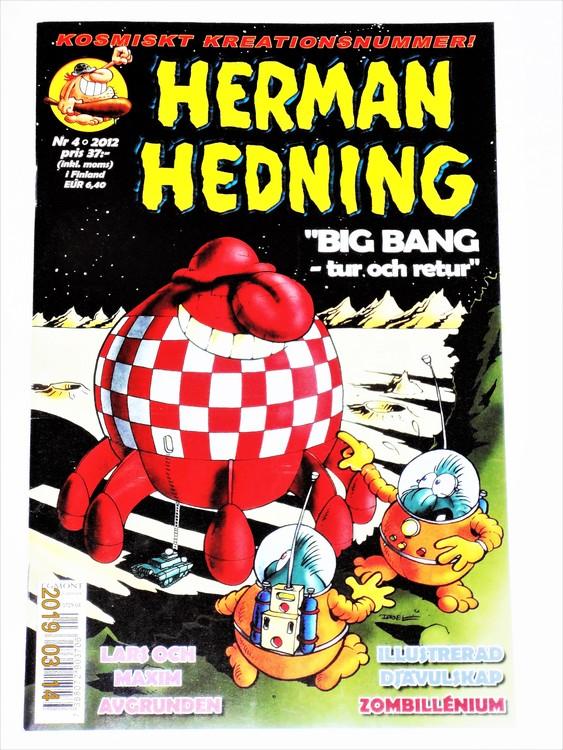 Herman Hedning nr 4 2012 mycket bra skick