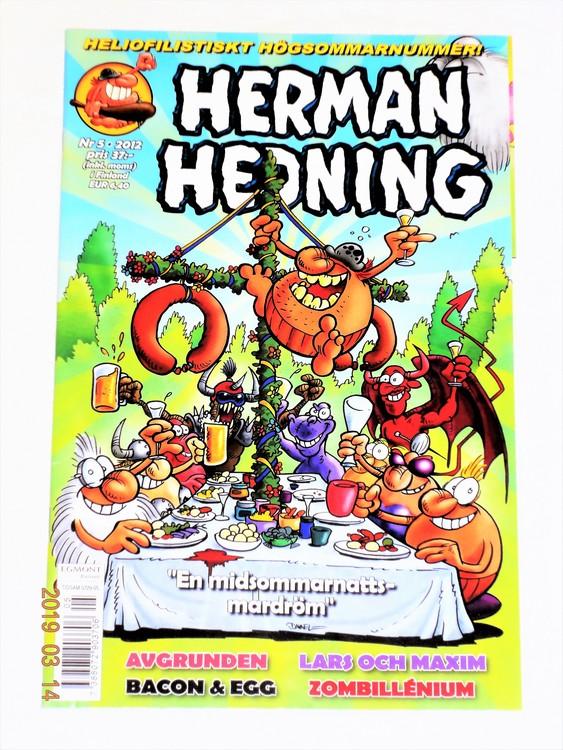 Herman Hedning nr 5 2012 mycket bra skick.