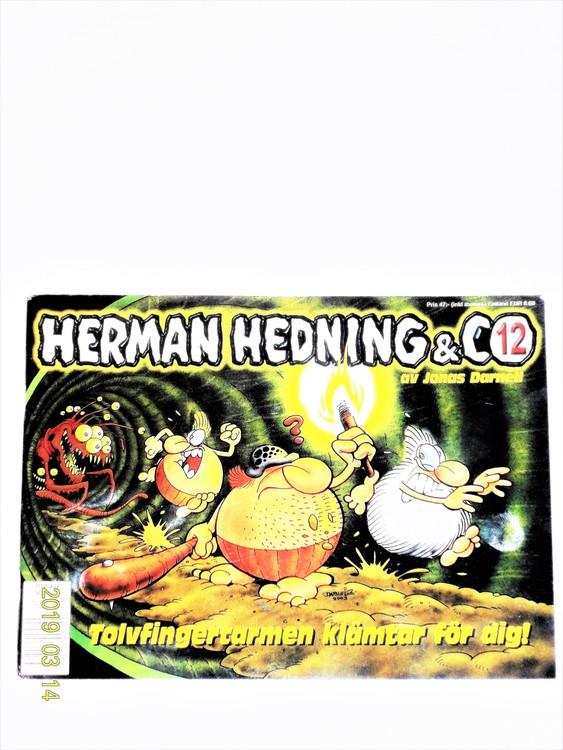 """Herman Hedning nr12 """"Tolvfingertarmen Klämtar För Dig""""mycket bra skick"""