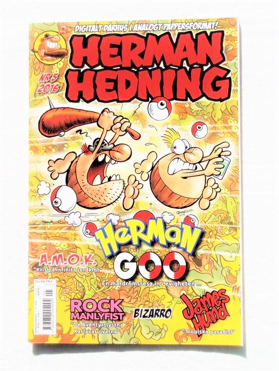 Herman Hedning nr5 2016 mycket bra skick,nära nyskick.