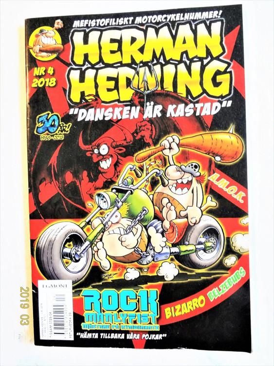 Herman Hedning nr4 2018 mycket bra skick.