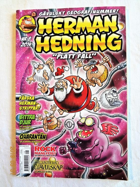 Herman Hedning nr8 2014, 84 sidor mycket bra skick.