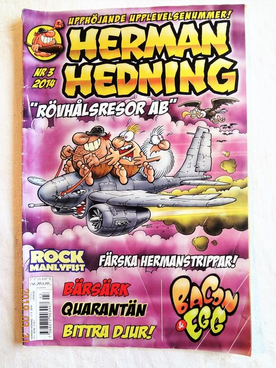 Herman Hedning nr 3 2014 mycket bra skick.