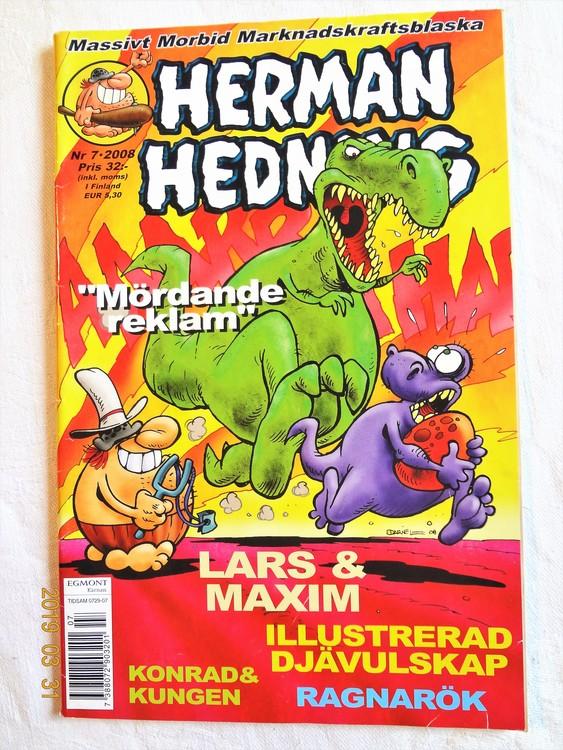 Herman Hedning nr 7 2008 mycket bra skick.