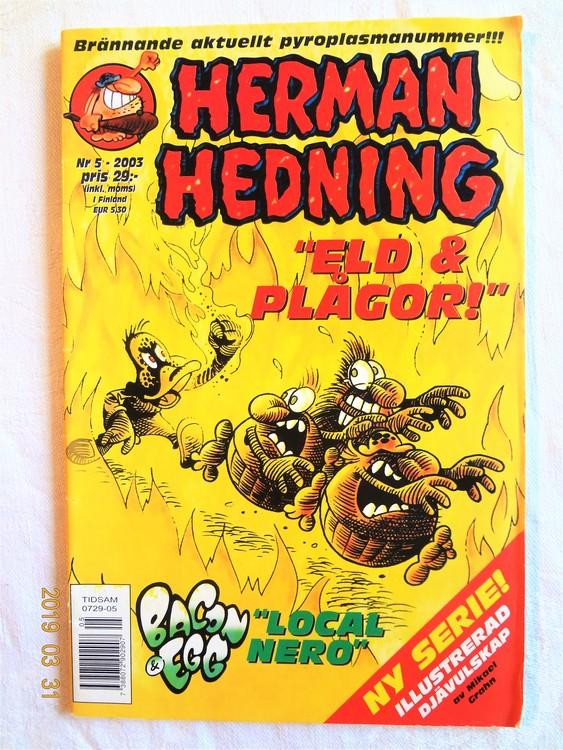 Herman Hedning nr 5 2003 bra skick.