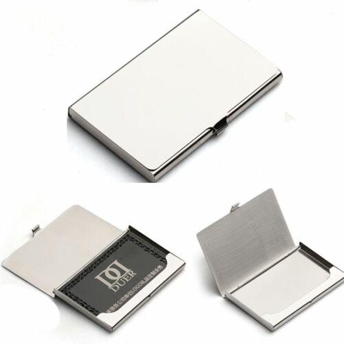 Kreditkortshållare Silver rostfritt stål Aluminium