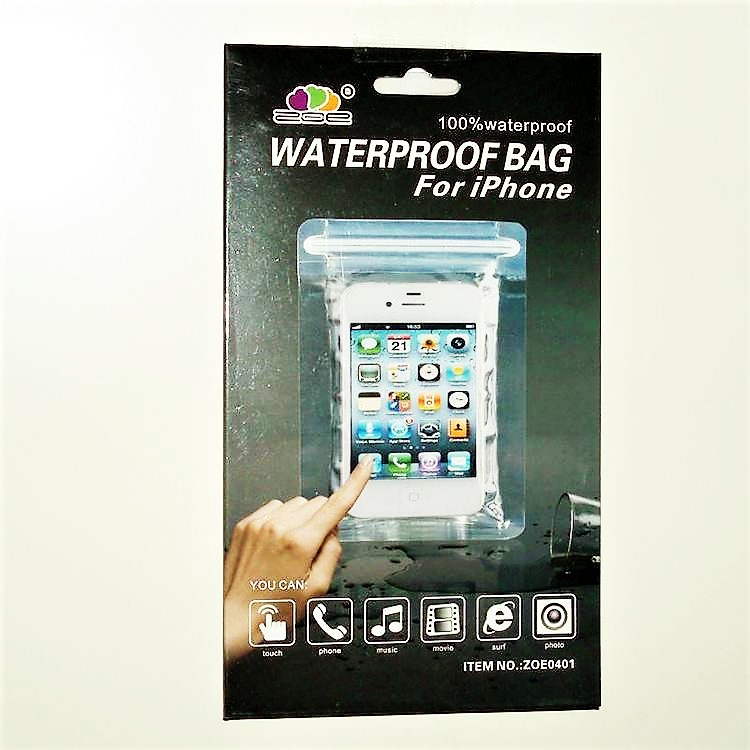 Iphone - Vattensäkert fodral - Med lås förslutning. Enkel lösning för din Iphone.