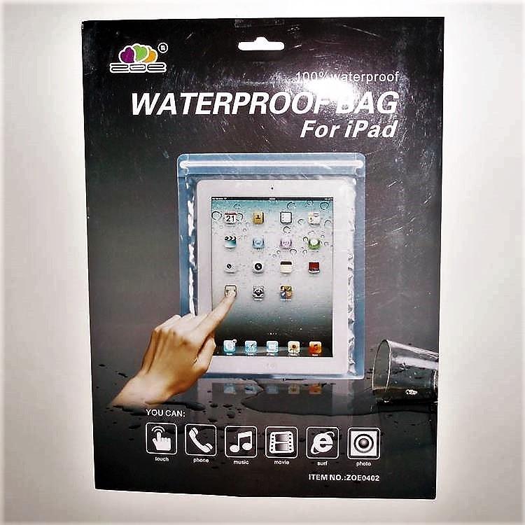 Ipad - Vattensäkert fodral - Med lås förslutning. Enkel lösning för din Iphone.