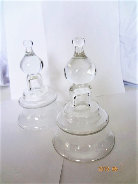 Glasljushållare till Kosta Boda i Gjutjärn 2 st./Smide för Värmeljus.