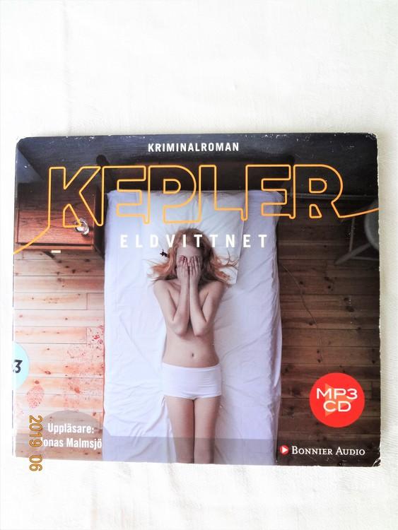 """Lars Kepler""""Eldvittnet""""2011,1cd 16tim 30min Mycket bra skick."""