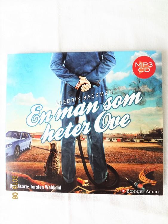 """Fredrik Backman""""En Man Som Heter Ove""""2012,Mycket bra skick Begagnad."""