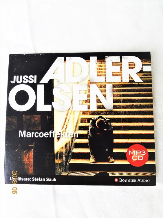 """Jussi Adler Olsen""""Marcoeffekten""""mycket bra skick begagnad."""