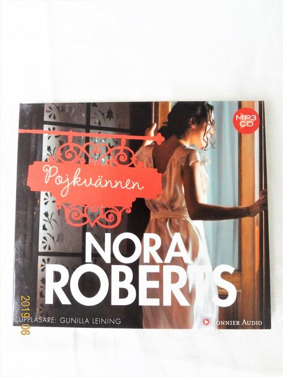 """Nora Roberts """"Pojkvännen"""" mycket bra skick begagnad."""