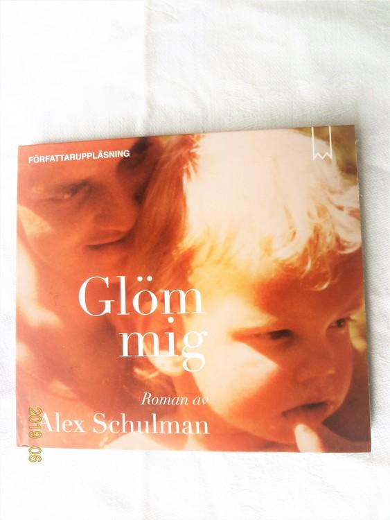 "Alex Schulman""Glöm Mig""mycket bra skick begagnad."