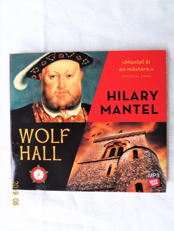 "Hillary Mantel ""Wolf Hall""mycket bra skick begagnad."