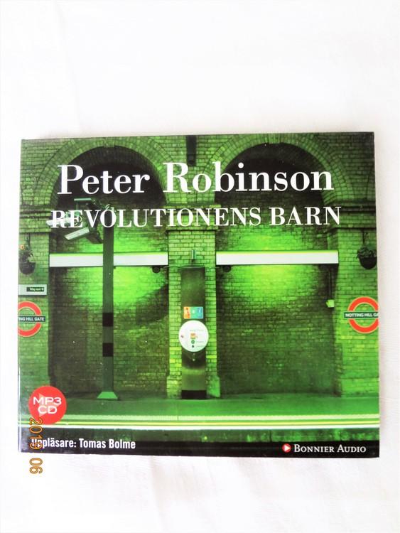 """Peter Robinson """"Revolutionens Barn"""" mycket bra skick begagnad."""