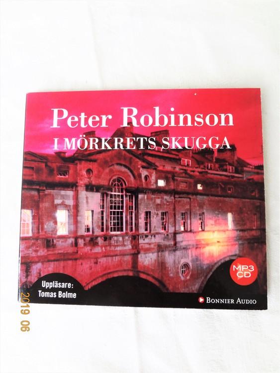 """Peter Robinson """"I Mörkrets Skugga"""" mycket bra skick begagnad."""