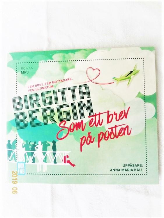 """Birgitta Bergin """"Som Ett Brev På Posten"""" mycket bra skick begagnad."""